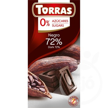 TORRAS ÉTCSOKOLÁDÉ 72% CM.GM.