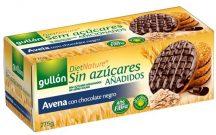 Gullón avena étcsokoládé zabkeksz cukor hozzáadása nélkül 275 g