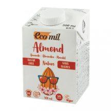 Ecomil bio mandulaital édesítő nélkül 500 ml