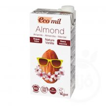 Ecomil bio mandulaital cukormentes vanília 1000 ml
