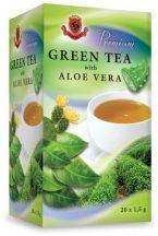 Herbex prémium tea zöldtea aloe verával 20x1,5g 30 g
