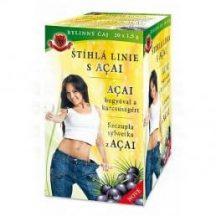 Herbex acai bogyóval a karcsúságért tea 20x1,5g 30 g