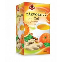 Herbex prémium gyömbér tea orange 20x2g 40 g