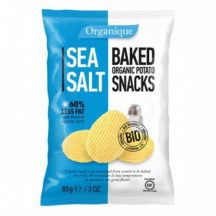 Organique bio burgonyás snack tengeri sós 85 g