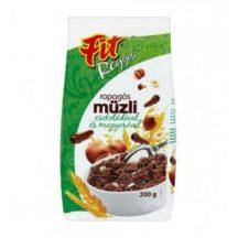 Fit reggeli ropogós müzli csoki-mogyoró 200 g