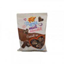 Fit ropogós müzliszivecskék csokoládé 50 g