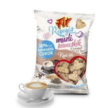 Fit ropogós müzliszivecskék quinoa és chia mag kávé ízű 50 g