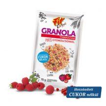 Fit reggeli granola többmagvas pirosgyümölcsökkel 70 g
