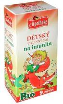 Apotheke bio gyermek immucare herbal tea 20x1,5g 30 g