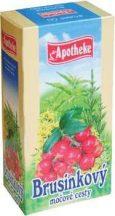 Apotheke tőzegáfonya tea 20x1,5g 30 g