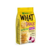 Benlian What Snack gluténmentes puff. kukorica tejszínes-hagymás 50 g
