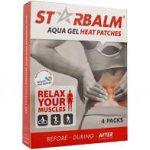 Star Balm aqua gel melegítő tapasz 4 db