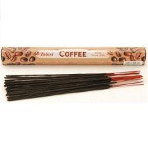 Füstölő tulasi hatszög coffee 20 db