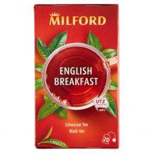 Milford ENGLISH BREAKFAST Fekete tea 20x1,75g