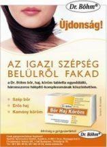 Dr.böhm bőr haj köröm tabletta 60 db